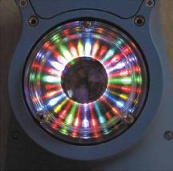 LEDs in the BYK-Gardner spectro-guide. Photo Courtesy of BYK-Gardner.