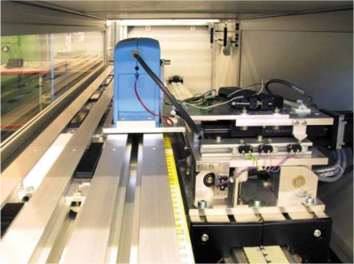 wave-scan calibration during production. Photo Courtesy of BYK-Gardner.