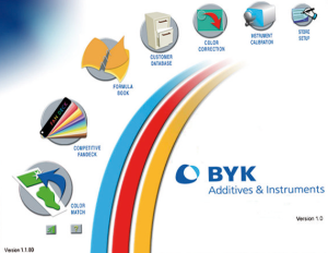 BYK-Gardner's RCS Software. Photo Courtesy of BYK-Gardner.